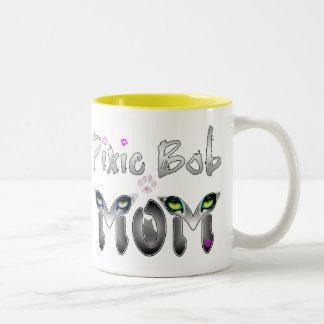 Pixie Bob Cat Mom Gifts Coffee Mugs