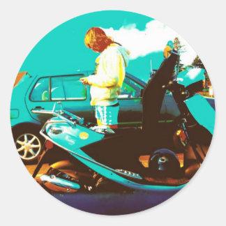 Pixie Classic Round Sticker