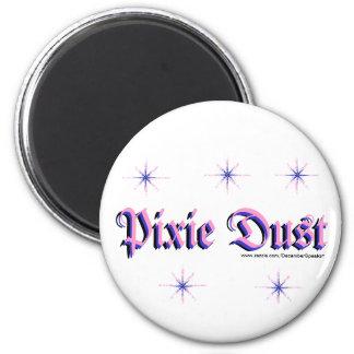 Pixie Dust 2 Inch Round Magnet