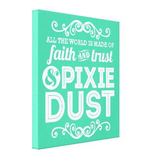 Pixie Dust Canvas Wrapped Art Canvas Print