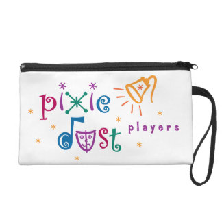 Pixie Dust Players Personalized Wristlet