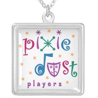 Pixie Dust Players Silver Pendant