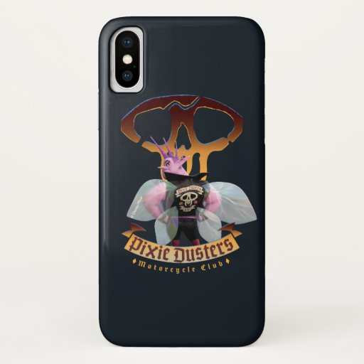 Pixie Dusters - Motorcycle Club iPhone X Case