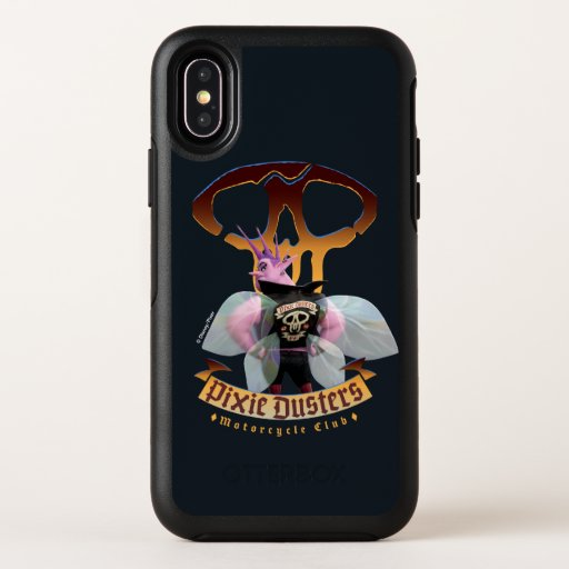Pixie Dusters - Motorcycle Club OtterBox Symmetry iPhone X Case