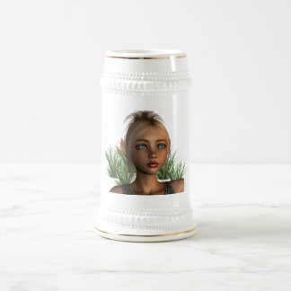 Pixie Elf  Beer Stein Coffee Mug