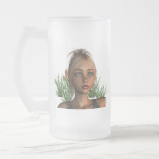 Pixie Elf Frosted Beer Mug