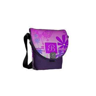Pixie Flower Butterflies 2 Messenger Bag