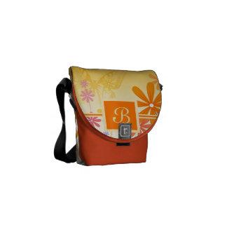Pixie Flower Butterflies Messenger Bag