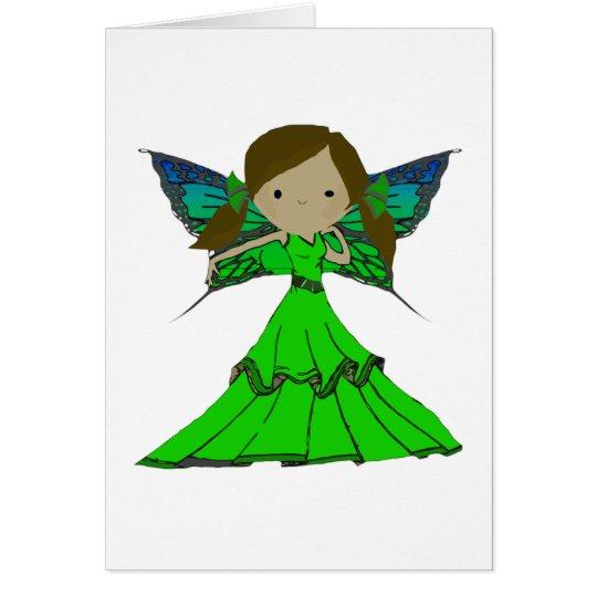 Pixie Girl Trixie Card