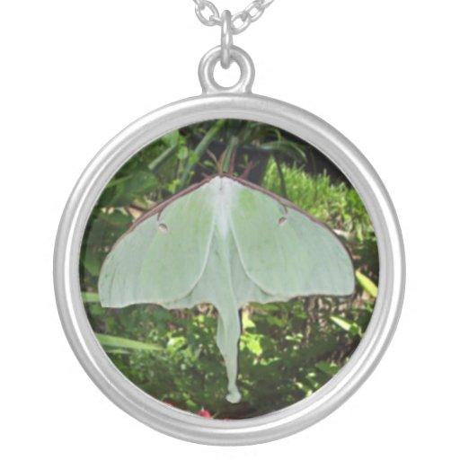 Pixie Globes - Luna Moth Custom Necklace