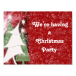 PIXIE HOLIDAY TREES 4.25X5.5 PAPER INVITATION CARD