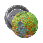 Pixie in the Garden Pinback Buttons