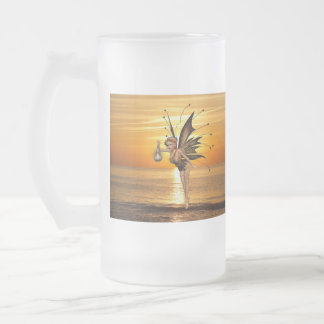 Pixie Lantern Frosted Beer Mug