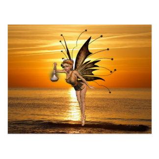 Pixie Lantern Postcard