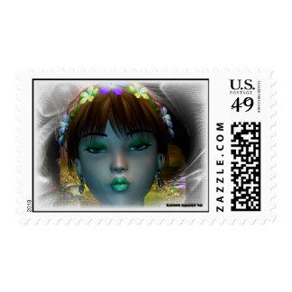Pixie Model Stamp