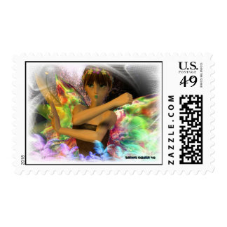 Pixie Model version 2 Postage Stamps