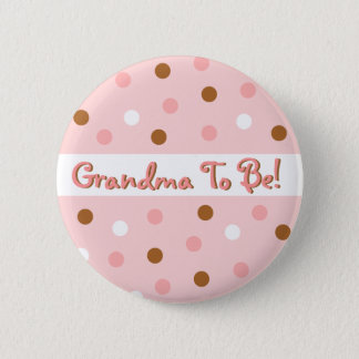 Pixie Polka Dot Grandma To Be Pin