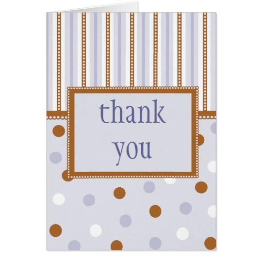 Pixie Polka Dots Thank You Notecard