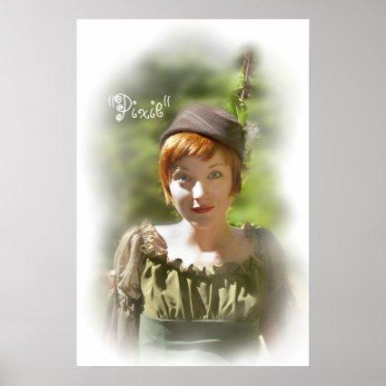 Pixie poster print