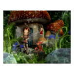 Pixie Power Home Sweet Home Posters
