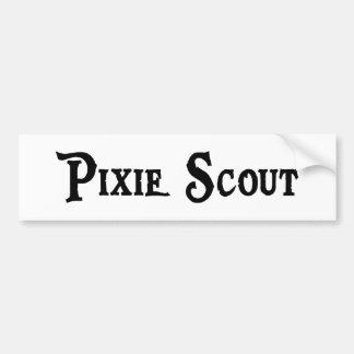 Pixie Scout Bumper Sticker