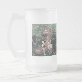 Pixie Shoe House Frosted Mug
