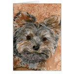 Pixie the Terrier Card