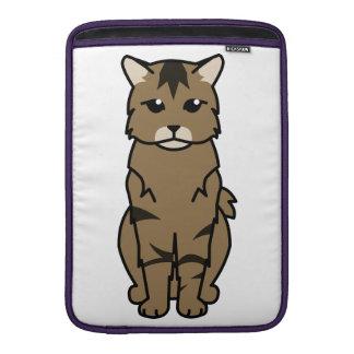 Pixiebob Cat Cartoon MacBook Sleeve