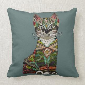 pixiebob kitten juniper throw pillow