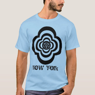 Pixipig New York Psychedelic Blue T-Shirt