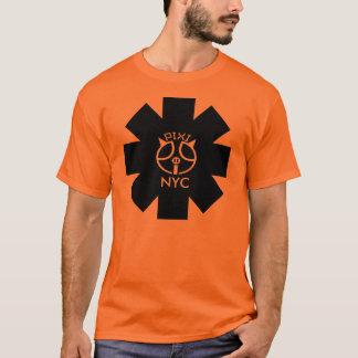 Pixipig NYC Asterisk Orange T-Shirt