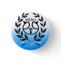 Pixipig Signature Blue Button