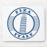 PIZA ITALY BLUE MOUSEPAD