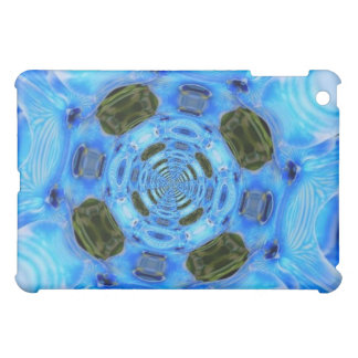Pizap Blue Orchids iPad case