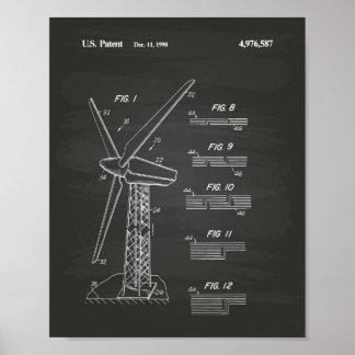 Pizarra 1990 del arte de la patente del rotor de