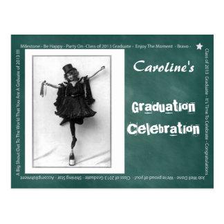 Pizarra 2013 de la graduación postal