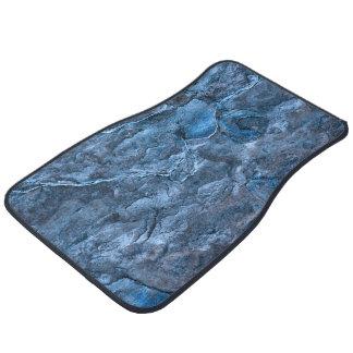 Pizarra azul alfombrilla de auto