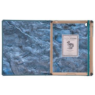 Pizarra azul iPad cárcasa