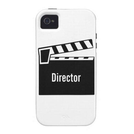 Pizarra Clapperboard de la película Vibe iPhone 4 Carcasas