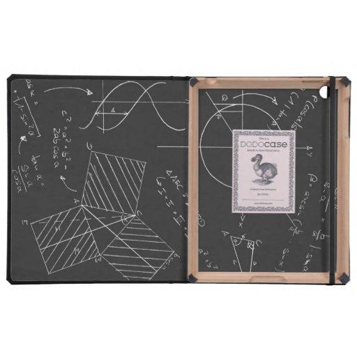 Pizarra de la matemáticas iPad fundas