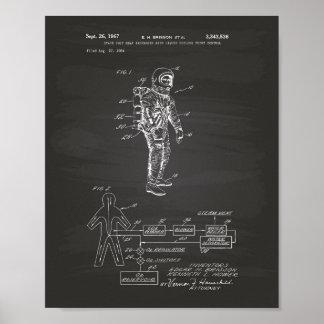 Pizarra de la patente del cambiador de calor del póster