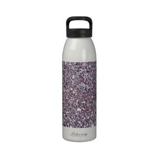 Pizarra de la piedra caliza del ciruelo botella de agua reutilizable