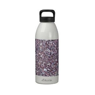 Pizarra de la piedra caliza del ciruelo botellas de agua reutilizables