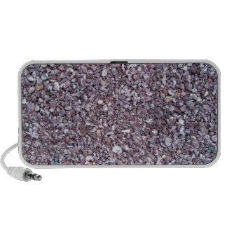 Pizarra de la piedra caliza del ciruelo iPhone altavoz