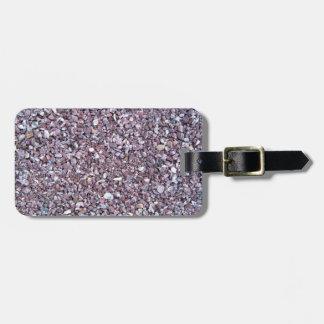 Pizarra de la piedra caliza del ciruelo etiquetas para equipaje