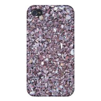 Pizarra de la piedra caliza del ciruelo iPhone 4 carcasas