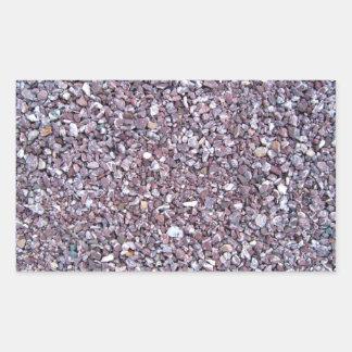 Pizarra de la piedra caliza del ciruelo rectangular altavoces