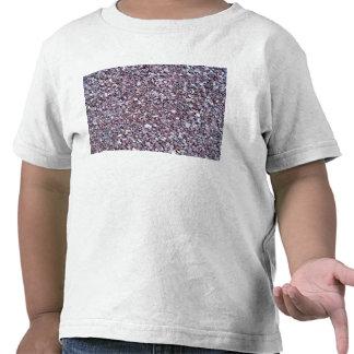 Pizarra de la piedra caliza del ciruelo camisetas