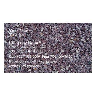 Pizarra de la piedra caliza del ciruelo tarjeta personal