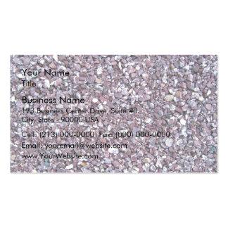 Pizarra de la piedra caliza del ciruelo tarjetas de visita